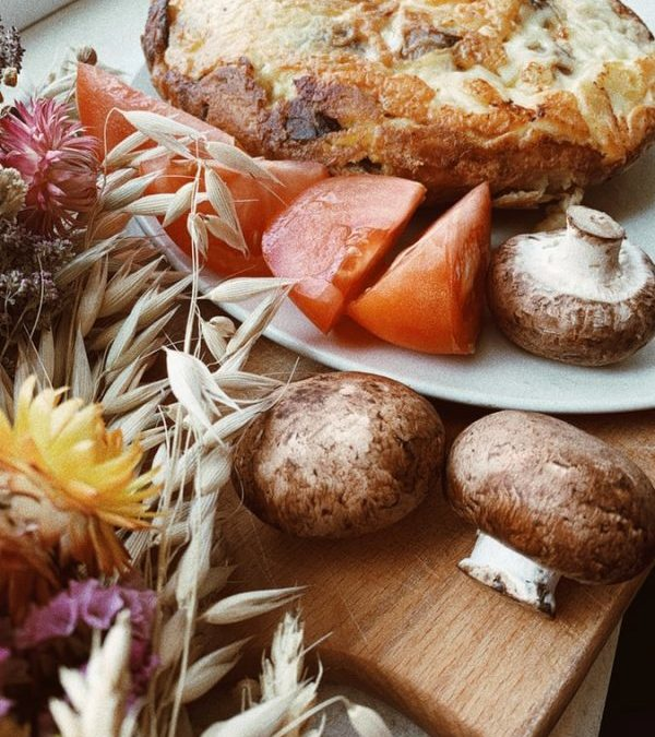 Омлетът с гъби – закуска срещу рака