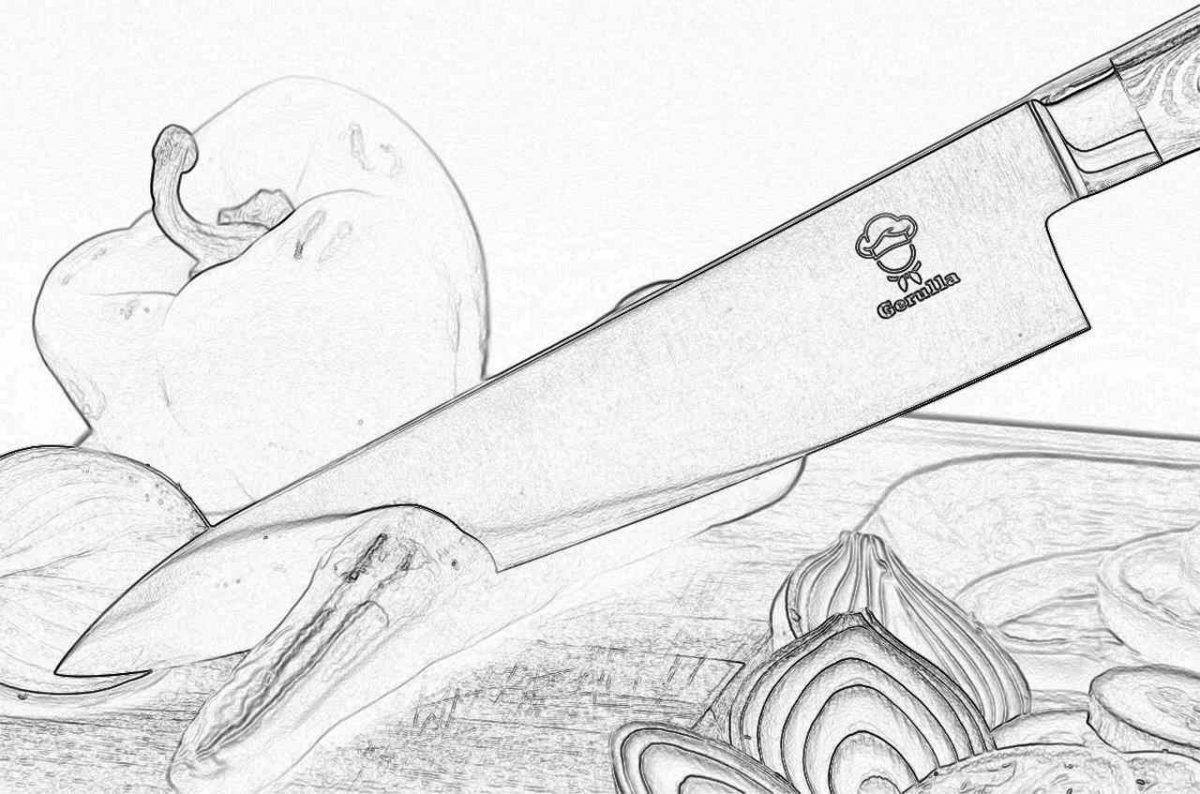 Съновник - нож