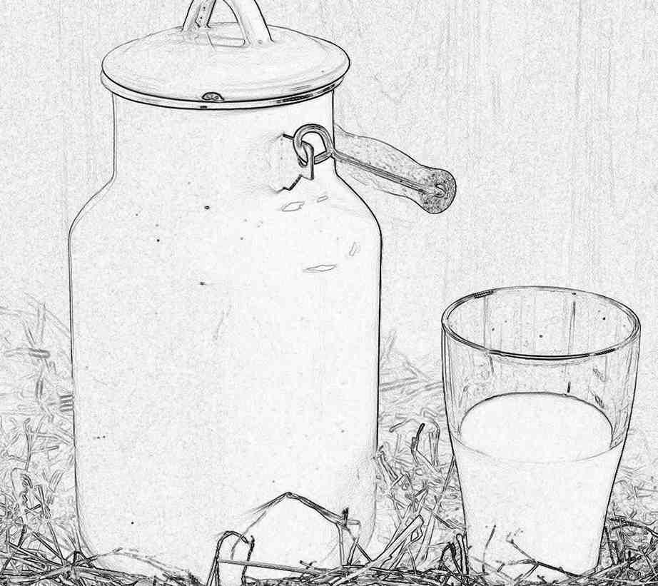 Съновник - мляко