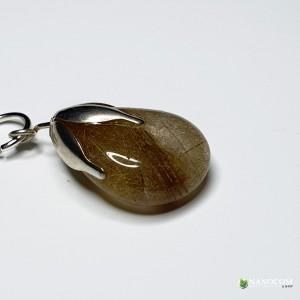 образец за висулка-зареден камък, никел